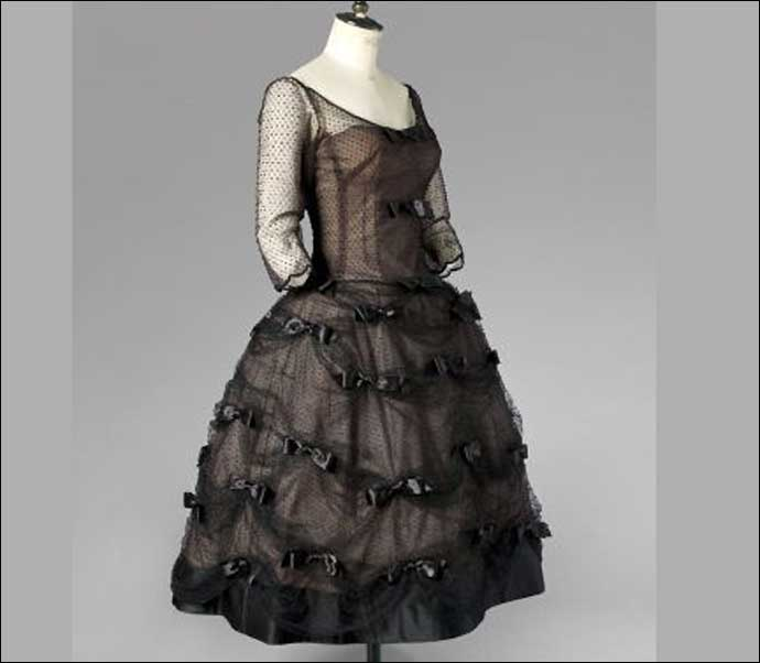 One of the many (real) dresses used in the film