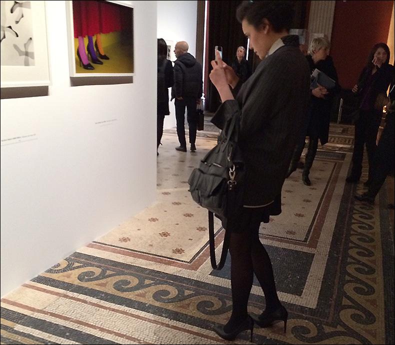 Press view at the Palais Galliera