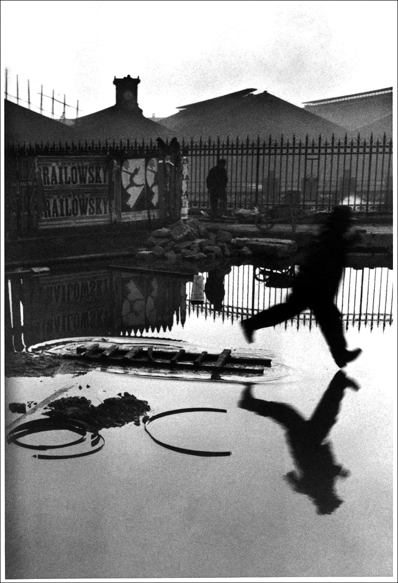 Behind Gare St Lazare, 1932 © Henri Cartier-Bresson/Magnum Photos courtesy Fondation Henri Cartier-Bresson