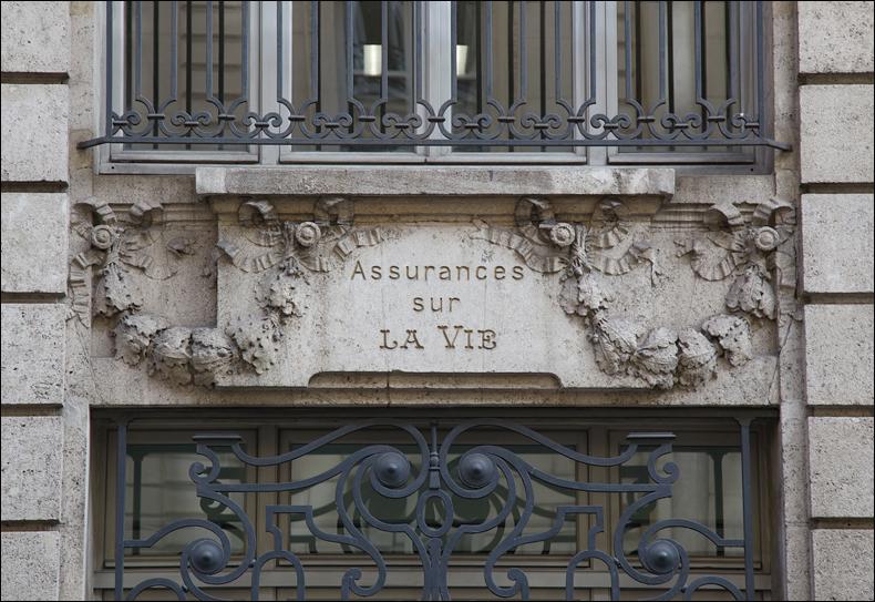 Near Boulevard Haussmann, pic: Steve Sampson