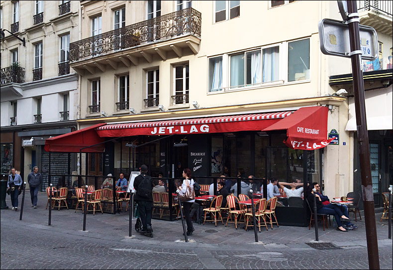 Edge of Les Halles; pic: Cynthia Rose