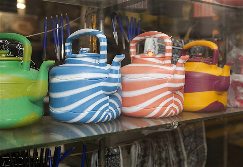 Water jugs, pic: martin Parr/Magnum