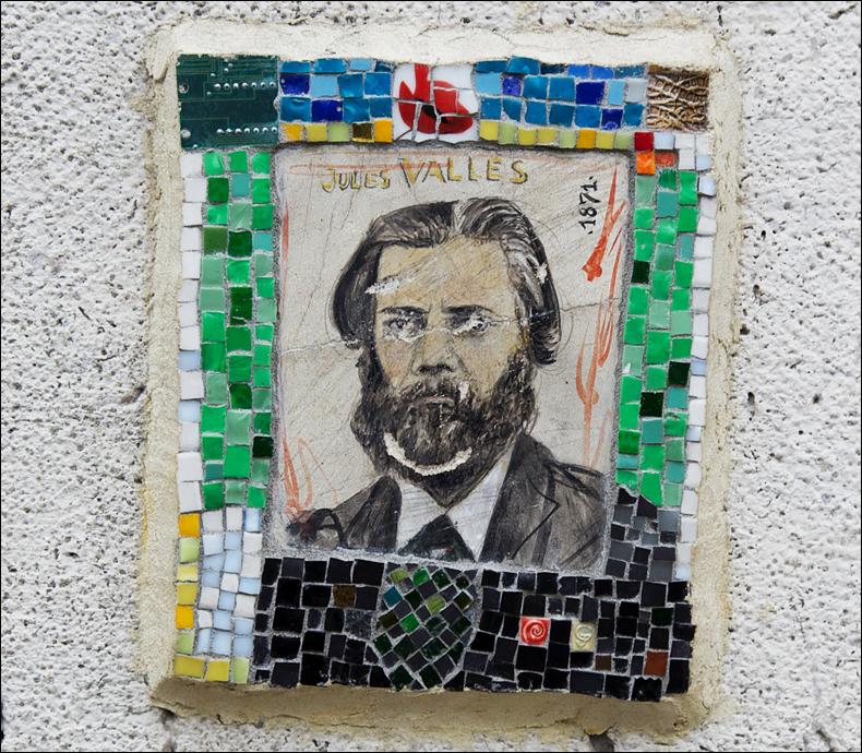 Jules Vallès, rue Saint-Jacques; pic: Cynthia Rose