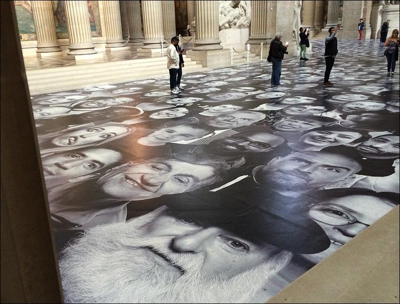Panthéon floor; pic: Cynthia Rose