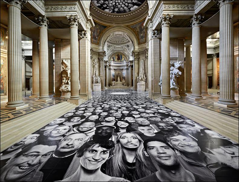 Panthéon floor, pic: J.R.