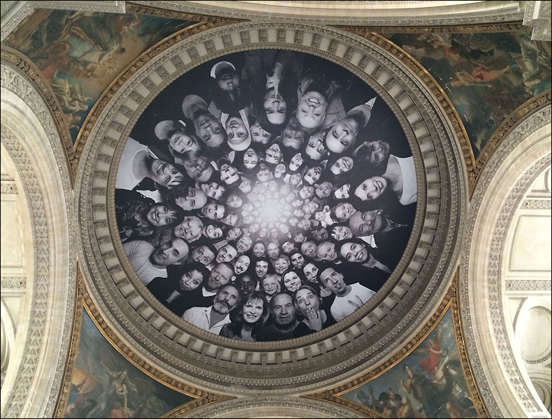 Interior dome of the Panthéon, pic: Cynthia Rose