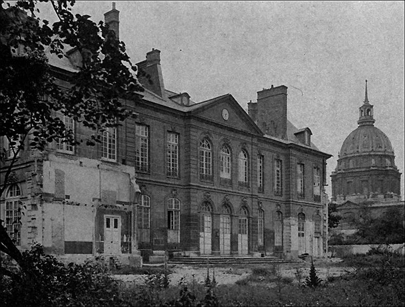 Six years after the artists' eviction; pic: C.L.Lémery ('Rodin à l'Hôtel Biron et Meudon', Coquiot, 1917)