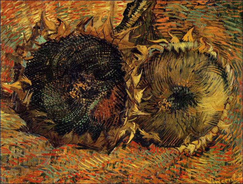 Vincent van Gogh Les tournesols, 1887; pic: Kunstmuseum Bern
