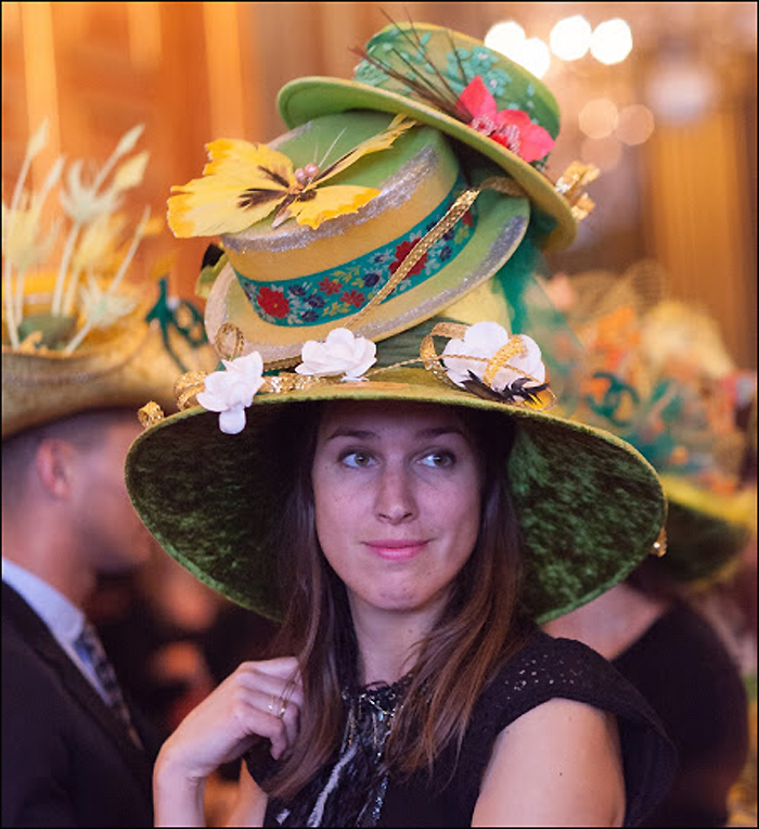 Catherinette 2014, pic © Jean-Baptiste Gurliat /Mairie de Paris.