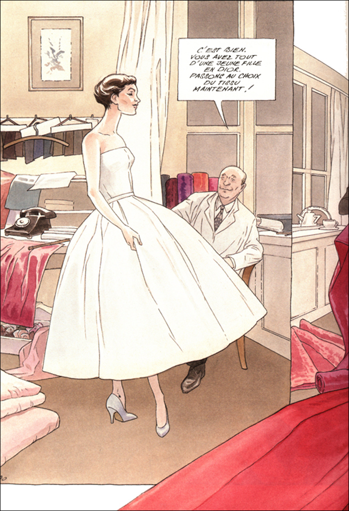 The French version of Annie Goetzinger's hit; pic: Dargaud