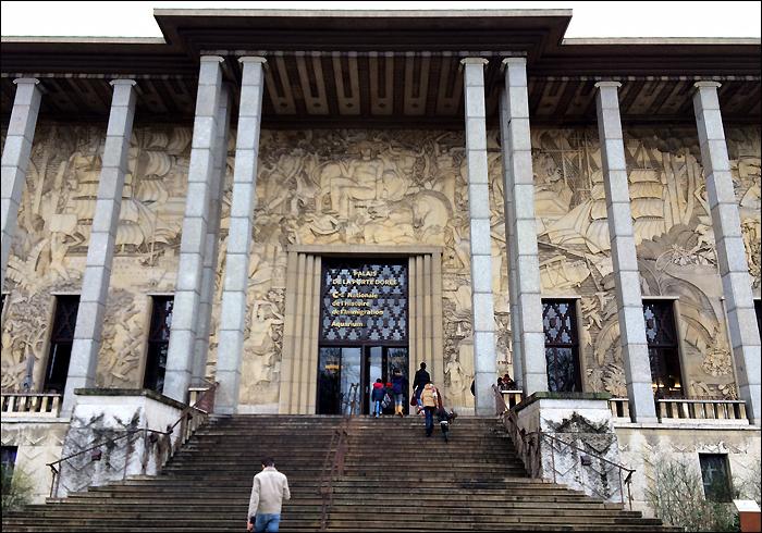 Palais de la Porte Dorée; pic: Steve Sampson